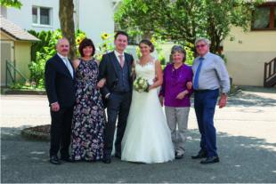 Christina Eble und Gabriel Lehmann feierten eine unvergessliche Hochzeit