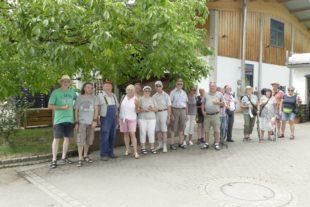 »Heiße« Dienstagswanderung führte Schwarzwaldverein nach Schnellingen