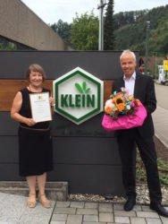 Brigitte LoVoi feiert 50-jähriges Dienstjubiläum bei Dr. Gustav Klein