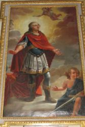 Der heilige Symphorian war ein christlicher Märtyrer