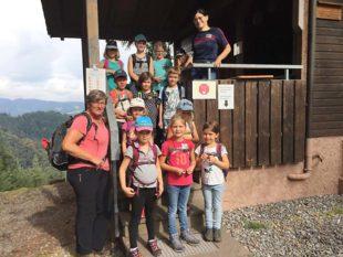 Mit »Zelli« auf Abenteuerwanderung zur Kuhkornkopfhütte
