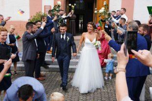 Hochzeitglocken für Isabel Fernandes Alender und Tobias Fernandes Sequeira
