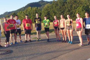 14 Athleten beim Virtual BW-Running