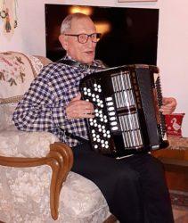 Musik begleitete den Jubilar durchs Leben