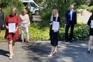 2020-8-5-LR-Gewerbe Schule- Verleihung Preis Wirtschaftsförderung-GSL_Preis Wirtschaftsfö Lahr 1