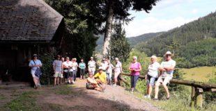 Erste »Corona-Dienstagswanderung« führte mit Abstand nach Einbach