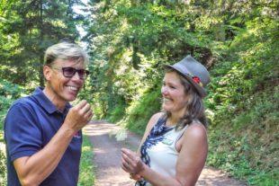 Mit Hansy Vogt auf Genuss-Tour