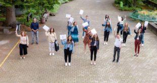 Abschlussjahrgänge bekamen auch im Coronajahr ihre Abschiedsfeier