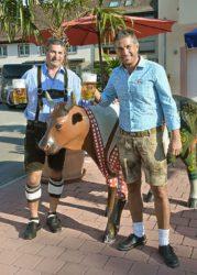 Oktoberfest im Party-Haus »Dörfle« in Zell a. H.