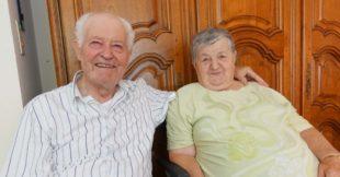 Josefine und Medard Siebert teilen seit 65 Jahre Freud und Leid