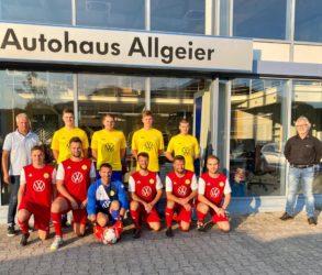Autohaus Allgeier unterstützt den FVB
