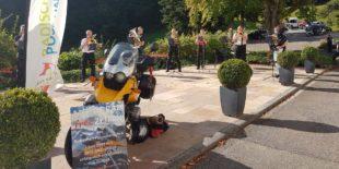Schöne Überraschung mit Botschaft der Musiker von »Bike and Brass«