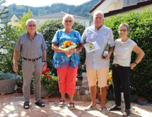 Adriana und Marian Hartog sind Stammgäste bei Familie Trinkaus