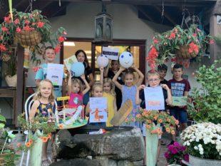 Die Kleinsten begeisterten mit tollen  Ideen beim Figaro-Ferienprogramm