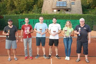 Tennisclub Oberharmersbach hat neue Clubmeister