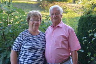 Helga und Wendelin Kornmayer  feiern am Samstag Goldhochzeit
