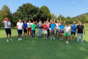 66 Golfer beim »Preis des Präsidenten«
