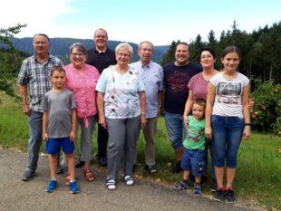 Gästeehrung auf dem Stollengrundhof in Nordrach