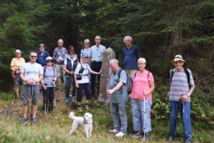 Mit dem Historischen Verein Nordrach zu Höhenhöfen und Altglashütten