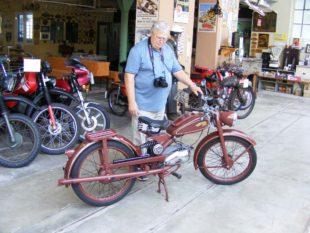 Ein Motorrad namens »Imme«