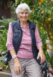 Berta Hübner feiert am Sonntag ihren 90. Geburtstag