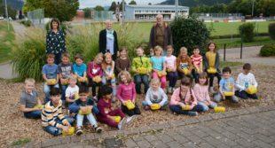 »Fritz die Paprika« für die Biberacher Grundschüler