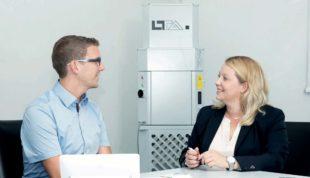 Effiziente Filterung mit Luftreiniger kann Infektionsgefahr senken