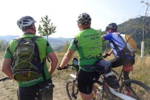Auch Mountainbike-Kilometer zählen