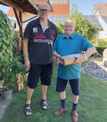 FVU gratuliert Hans Damm zum 85. Geburtstag
