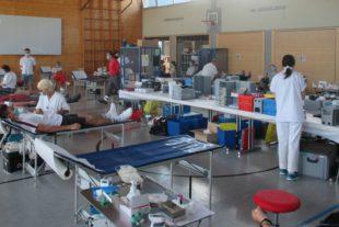 15 Erstspender kamen in Biberach zum Blutspendetermin