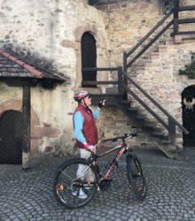 Die Stadt mit dem Fahrrad erkunden