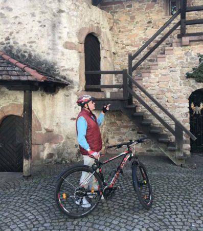 Rad-Stadtführung in Zell am Harmersbach