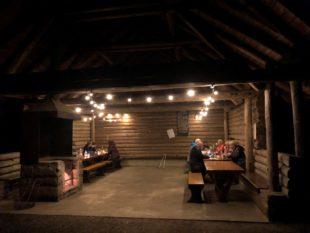 Gut gelaunt durch  mondhelle Nacht  Abschluss der Vollmondsaison 2020  mit Picknick am Herrenholz