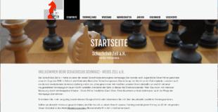 Neue Website für den Schachclub