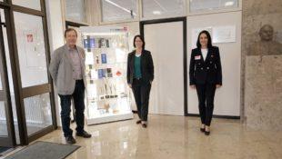 Gemeinde und Karl Knauer KG hatten Besuch vom Landtagsabgeordneten Thomas Marwein