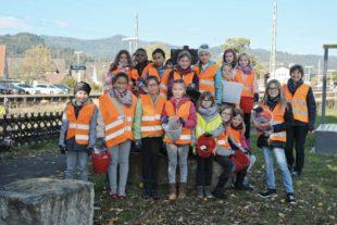 Grundschule macht mit bei der Kreisputzete 2020