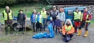 Nordracher Kleintierzüchter sammelten Müll im Rahmen der »Ortenauer Kreisputzede«