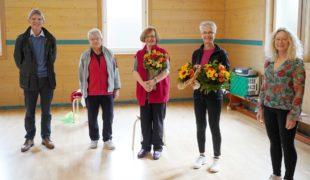 Brigitte Joos nach 39 Jahren Fachwartin im Ortenauer Turngau verabschiedet
