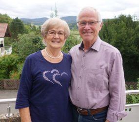 Gerlinde und Erich Dold feiern das Fest der goldenen Hochzeit