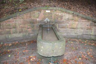 Wasser der Radiumquelle hat keine Trinkwasserqualität