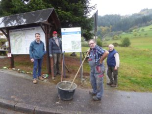 Sagenrundweg »Goldener Ritter« in Biberach-Prinzbach ist fertiggestellt