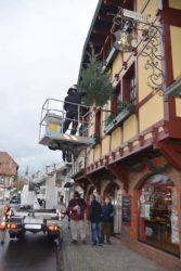 Zeller Tannenbaumstädtle wird nächste Woche geschmückt
