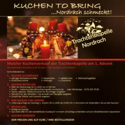 Kuchen to bring