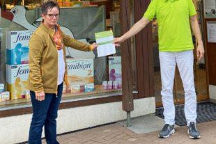 »#schätzligellkaufinzell«: Einkaufen in den Zeller Fachgeschäften bringt Glück