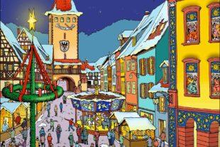 Advents- und Weihnachtsweg zum Gengenbacher Adventskalender