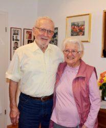 Gisela und Kurt Ficht feierten am Dienstag das Fest der Diamanthochzeit