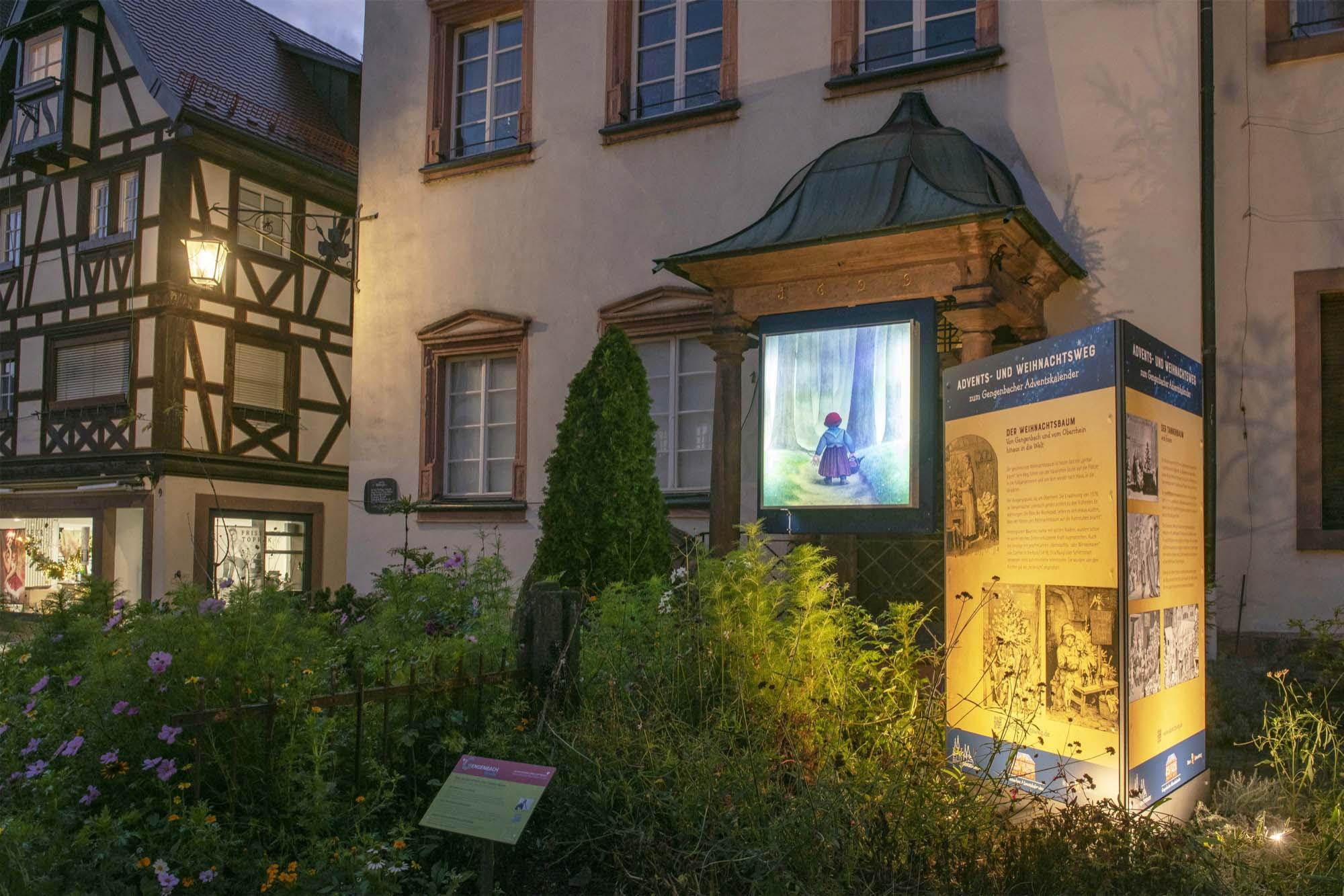 2020-11-27-GB-Gengenbach-Stadt-Adventsweg Gengenbach Ratskanzlei Foto D. Wissing