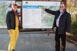 Neuer Themenweg in Seelbach ausgeschildert