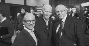 Mit Joe Biden zusammengetroffen