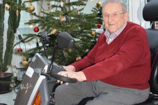 Ehrenhauptmann Werner Faißt feierte gestern seinen 96. Geburtstag